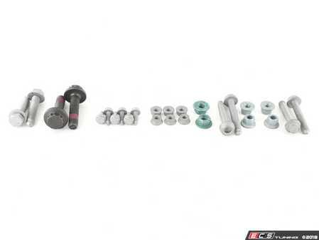 ES#3579949 - B6CCSuspHrdwreKT - Coil Spring Hardware Installation Kit - All the hardware you need to remove and replace your coil springs - Assembled By ECS - Volkswagen