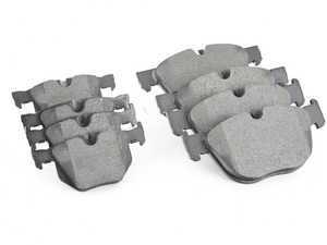 ES#3551324 - 34114074370KT - Front And Rear Brake Pad Set - Original supplier of brake pads to BMW - Pagid - BMW