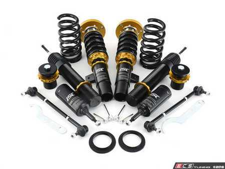 ES#3493603 - B005-4-T - ISC N1 Coilover Kit - Track & Race - A high quality, performance coilover kit at a low cost. Stiffer springs and racing valving for ultimate performance! - ISC Suspension - BMW