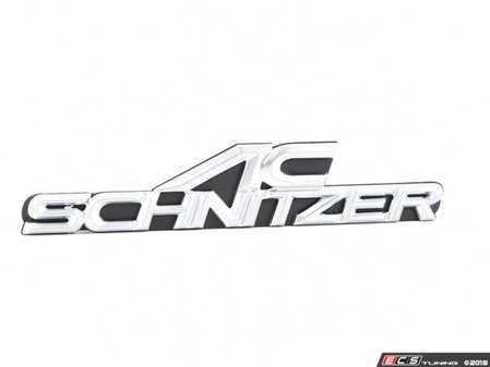 ES#3034484 - 511410250 - AC Schnitzer Type Grille Emblem (160x32) - New front grille emblem for AC Schnitzer - AC Schnitzer - BMW MINI