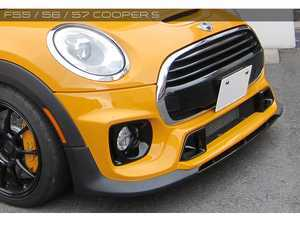ES#3552928 - GAR-F55-002 - Garbino Front Bumper & Exclusive OEM Foglight Kit - Aggressive FRP front bumper kit that has a MINI Challenge OEM type look - Garbino - MINI