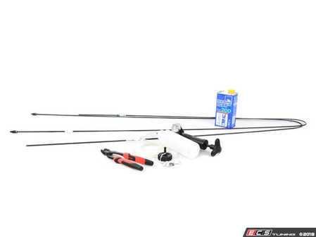 ES#3490977 - 34306779195KT - Brake Pipe Repair Kit - Needed to repair both rear portion brake lines - Assembled By ECS - MINI