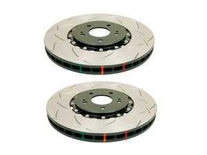"ES#3553041 - 52288blksKT - T3 5000 Series 2 Piece Slotted Rotors - Pair 13.189"" (335x30) - High performance rotors for stopping your MINI - DBA - MINI"