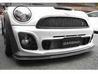 ES#3553096 - GAR-R56-004 - Garbino Front Bumper Extension Type X - Carbon Fiber - Attaches to the bottom of the Type X Garbino front bumper - Garbino - MINI