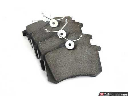 ES#3226486 - 105.03400 - Posi-Quiet Ceramic Rear Brake Pad Set - Includes shims and hardware with the lowest dust - Centric - Audi Volkswagen