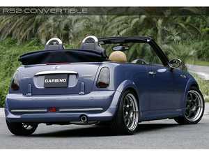 ES#3553198 - GAR-R52-003 - Garbino Rear Half Spoiler - Aggressive FRP rear bumper spoiler kit that has a OEM+ type look - Garbino - MINI