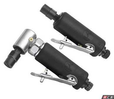 ES#3553259 - ATD2122 - 2 Pc. Air Die Grinder Set - Straight or angle tools for all applications - ATD Tools - Audi BMW Volkswagen Mercedes Benz MINI Porsche