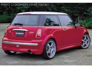 ES#3553299 - GAR-R50-006 - Garbino Rear Half Spoiler - Aggressive FRP rear bumper spoiler kit that has a OEM+ type look - Garbino - MINI
