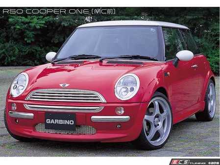 ES#3553295 - GAR-R50-004 - Garbino Front Half Spoiler - Aggressive FRP front bumper spoiler kit that has a OEM+ type look - Garbino - MINI