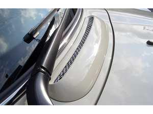 ES#3553328 - GAR-R50-009 - Garbino Bonnet Air Grille - Pair - Attaches to the factory cowl vent location - Garbino - MINI