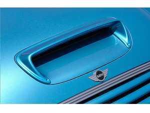 ES#3553329 - GAR-R50-010 - Garbino Hood Scoop Vent Duct - FRP - Add-on aero piece to the factory hoop scoop - Garbino - MINI