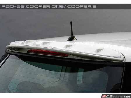 ES#3553332 - GAR-R50-012 - Garbino Vortech Generator - FRP - Add-on aero piece to the factory Cooper S type spoiler - Garbino - MINI