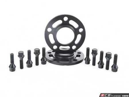 ES#3551718 - twh9905010KT - Turner Motorsport Black Wheel Spacer & Bolt Kit - 10mm - Lightweight wheel spacers with a machined tab for easy removal - Turner Motorsport - BMW