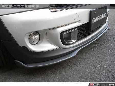 ES#3553353 - GAR-R56-008 - Garbino Front Lip Spoiler - Carbon Fiber - Attaches to the bottom of the Cooper S front bumper - Garbino - MINI