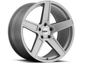 "ES#3555032 - 1780asc325112KT2 - 17"" Ascent Wheels - Set Of Four - 17""x8.0"", ET32, 5x112 - Matte Titanium Silver Finish - TSW Alloy Wheels - Audi Volkswagen"