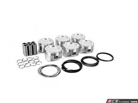 ES#3523472 - je338095 - JE BMW Pistons N54+.5 - Set of 6 pistons - JE Piston - BMW