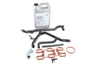 ES#3184115 - 11531705210KT - Heater Hard Line replacement Kit  - Includes everything needed to replace heater coolant hard lines - Assembled By ECS - BMW