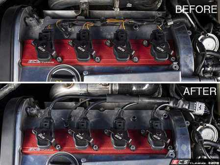 ES#3491683 - 020745ecs01KT - Ignition Coil Pack Harness Replacement Kit - Replace your brittle and broken ignition harness with our high quality replacement harness - ECS - Audi Volkswagen