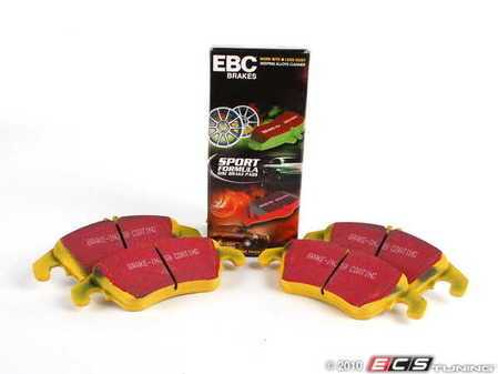 ES#2070878 - DP41991R - Front Yellowstuff Performance Brake Pad Set - A race-quailty pad that can be used at the track and back home again - EBC - Mercedes Benz