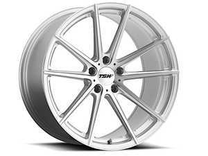 "ES#3557552 - 1780bat325112KT3 - 17"" Bathurst Wheels - Set Of Four - 17""x8.0"", ET32, 5x112 - Silver W/Mirror Cut Face - TSW Alloy Wheels - Audi Volkswagen"