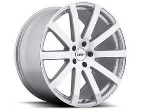 "ES#3557606 - 1780brk325112KT2 - 17"" Brookland Wheels - Set Of Four - 17""x8.0"", ET32, 5x112 - Silver W/Mirror Cut Face - TSW Alloy Wheels - Audi Volkswagen"