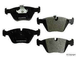 ES#240249 - D1364M - Front Metal Master Brake Pad Set - Non-asbestos, semi-metallic compound provides the highest fade resistance. - PBR - BMW