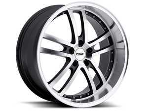 "ES#3557677 - 1780cad325112KT1 - 17"" Cadwell Wheels - Set Of Four - 17""x8.0"", ET32, 5x112 - Gunmetal With Mirror Cut Face/Lip - TSW Alloy Wheels - Audi Volkswagen"