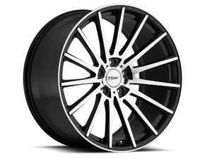 "ES#3557703 - 1780chc325112KT3 - 17"" Chicane Wheels - Set Of Four - 17""x8.0"", ET32, 5x112 - Gloss Black W/Mirror Cut Face - TSW Alloy Wheels - Audi Volkswagen"
