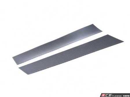 ES#3420948 - BM-0120 - B-Pillar Covers - Carbon Fiber - Carbon fiber accents you cannot miss - AUTOTECKNIC - BMW