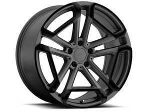 "ES#3557746 - 1780crc325112KT1 - 17"" Circuit Wheels - Set Of Four - 17""x8.0"", ET32, 5x112 - Matte Gunmetal With Gloss Black Face - TSW Alloy Wheels - Audi Volkswagen"