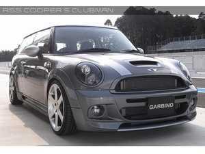 ES#3557759 - GAR-R55-002 - Garbino Front Bumper Clubman - FRP & Carbon Fiber - Aggressive FRP/Carbon Fiber front bumper kit that has a MINI AERO Gen 1 OEM type look - Garbino - MINI