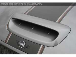 ES#3557775 - GAR-R55-006 - Bonnet Air Scoop - Aggressive FRP hood scoop with increased contours - Garbino - MINI