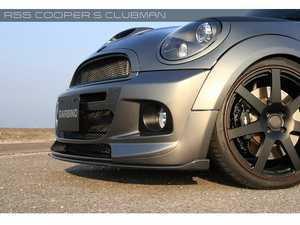 ES#3557783 - GAR-R55-009 - Garbino Front Lip Spoiler - FRP - Attaches to the bottom of the Garbino front bumper - Garbino - MINI