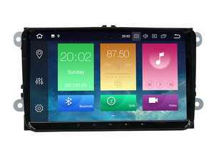 """ES#3557779 - 021488BRP07 - 9"""" Android Multimedia System - Features an 8-core processor running Android 8.0 making it one powerful plug and play radio upgrade! - Bremmen Parts - Volkswagen"""