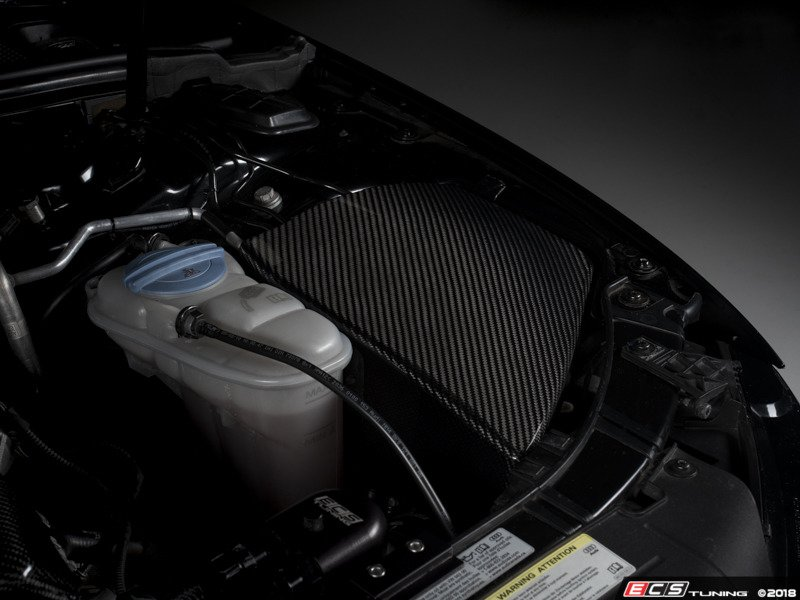 Ecs News Ecs B8 A4s4 Carbon Fiber Left Side Engine Bay Covers