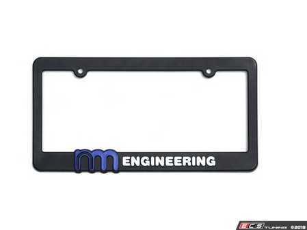 ES#3557969 - NM.938812 - NM Engineering Plate Frame - Fits standard front or rear plate - NM Engineering - MINI