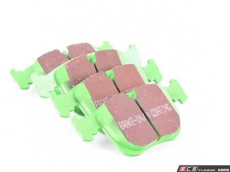 ES#520113 - DP2870 - GreenStuff Performance Brake Pad Set - Designed as a mildly upgraded pad, great for an afternoon of sporty driving. - EBC - BMW