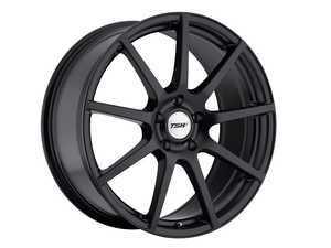 """ES#3559077 - 1880INTKT - 18"""" Interlagos Wheels - Set Of Four - 18""""x8.0"""", ET45, 5x112 - Matte Black - TSW Alloy Wheels - Volkswagen"""