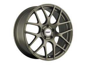 """ES#3559336 - 1880NURKT7 - 18"""" Nurburgring Wheels - Set Of Four - 18""""x8.0"""", ET45, 5x100 - Matte Bronze - TSW Alloy Wheels - Volkswagen"""