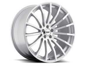 "ES#3559094 - 1880MALKT - 18"" Mallory Wheels - Set Of Four - 18""x8.0"", ET45, 5x112 - Silver W/Mirror Cut Face - TSW Alloy Wheels - Volkswagen"