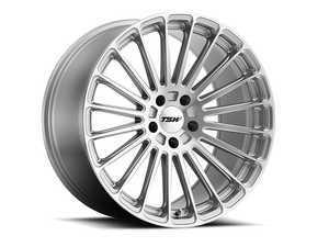 "ES#3559193 - 1885TURKT - 18"" Turbina Wheels - Set Of Four - 18""x8.5"", ET42, 5x112 - Titanium Silver with Mirror Cut Face - TSW Alloy Wheels - Volkswagen"