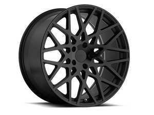 "ES#3559198 - 1885VALKT - 18"" Vale Wheels - Set Of Four - 18""x8.5"", ET43, 5x112 - Matte Black with Gloss Black Face - TSW Alloy Wheels - Volkswagen"