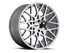 "ES#3559292 - 1780VLEKT - 17"" Vale Wheels - Set Of Four - 17""x8.0"", ET35, 5x100 - Silver with Mirror Cut Face - TSW Alloy Wheels - Volkswagen"