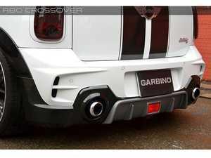 ES#3559248 - GAR-R60-003 - Garbino Rear Bumper (C) - Without Rear Fog Light - Aggressive FRP rear bumper kit that has a MINI Import Tuner/ OEM type look - Garbino - MINI