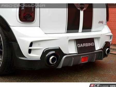 ES#3559531 - GAR-R60-003W - Garbino Rear Bumper (C) - With Rear Fog Light - Aggressive FRP rear bumper kit that has a MINI Import Tuner/ OEM type look - Garbino - MINI