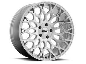 "ES#3559526 - 1780slw325112KT1 - 17"" Oslo Wheels - Set Of Four - 17""x8.0"", ET32, 5x112 - Silver w/Mirror Cut Face - TSW Alloy Wheels - Audi Volkswagen"