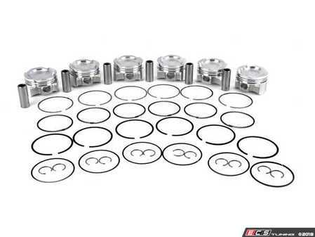 ES#3523500 - JE338094 - JE Pistons BMW N54: Standard Bore  - Set of 6 pistons - JE Piston - BMW