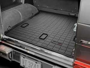 ES#2837342 - 40214 - 2002 - 2005 Mercedes-Benz G500 Black Cargo Liners - WeatherTech - Mercedes Benz