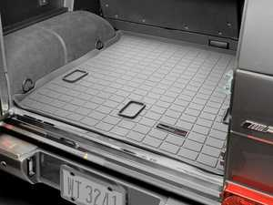 ES#2837517 - 42214 - 2002 - 2005 Mercedes-Benz G500 Grey Cargo Liners - WeatherTech - Mercedes Benz