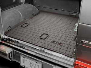 ES#3459582 - 43214 - Cargo Liners - Cocoa - Mercedes-Benz G-Class 2002 + - WeatherTech - Mercedes Benz
